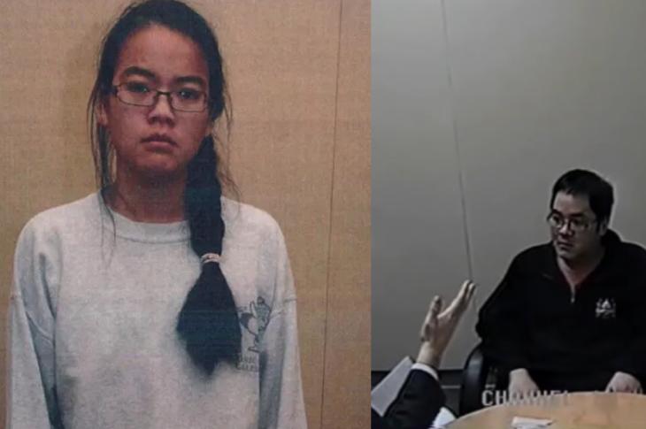 Jennifer Pan and Daniel Wong photos taken by police.